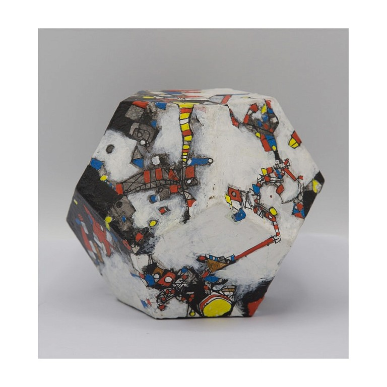 Dodecahedron III - Ceramic