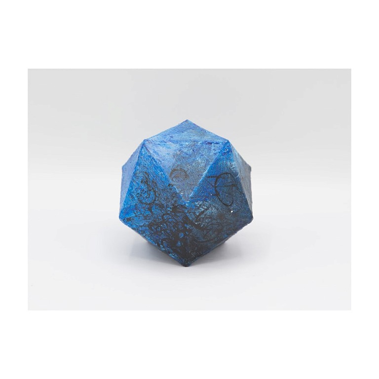 Dodecahedron IV - Ceramic