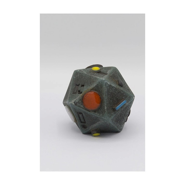 Dodecahedron VIII - Ceramic