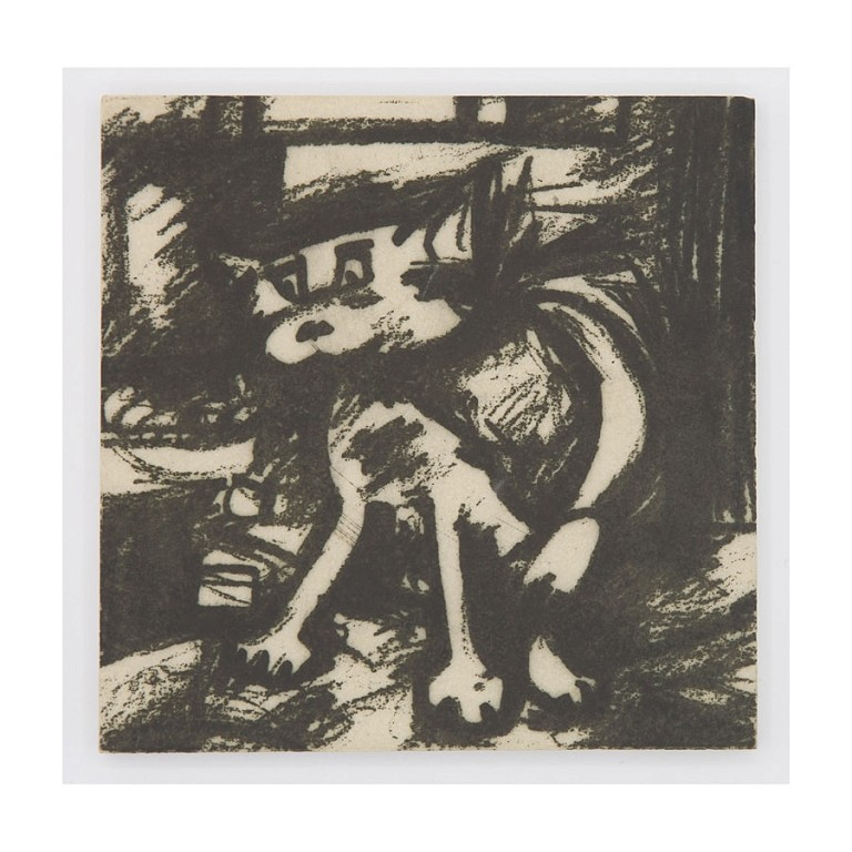 Grey Cat II - Tile