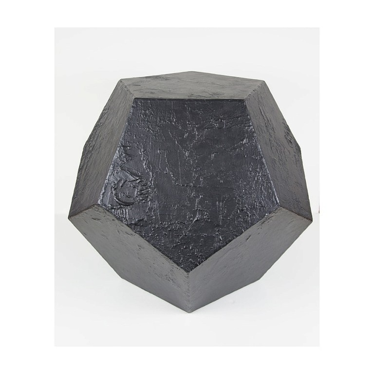 Dodecahedron Black - Large